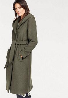 Boysen's hosszú kabát kapucnival és övvel