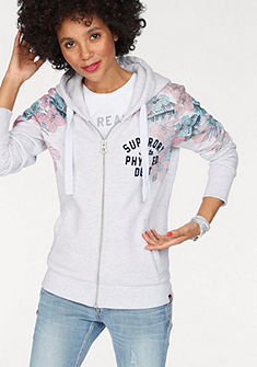 Superdry Mikina s kapucí »TROPICAL FLORAL ENTRY ZIPHOOD«