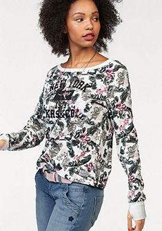 KangaROOS pulóver elején nyomott mintával