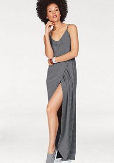 Superdry Dlhé šaty »STRIPE WRAP DRESS«