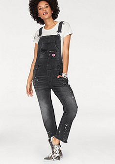 Superdry Rifle na traky »JODIE BOYFRIEND DUNGAREE«