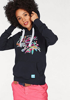 Superdry Mikina s kapucňou »STACKER TROPICAL ENTRY HOOD«