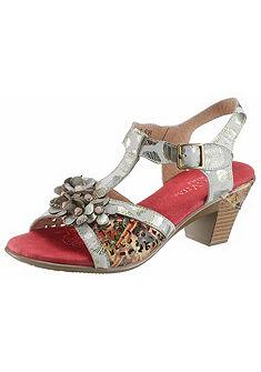LAURA VITA Sandály s květy »Bettino«
