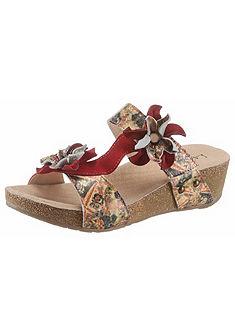 LAURA VITA Kožené pantofle »Bingo«