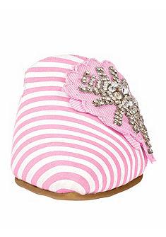 XYXYX Pantofle s ozdobnými kamínky
