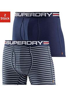 Superdry sportos Boxer (2 db) tengerész stílusban