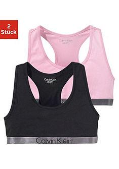 Calvin Klein Dievčenský krátky top po 2 ks »Customized Stretch«