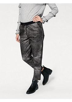 RICK CARDONA by heine Kožené nohavice jahňacia koža s elastickým pásom na šnúrku