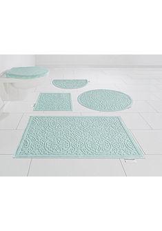 Fürdőszoba szőnyeg GMK Home & Living, »Garden Pastels«, magasság 3 mm, csúszásmentes aljjal