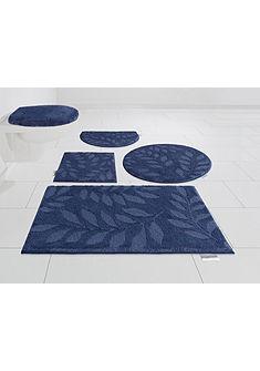 Fürdőszoba szőnyeg, GMK Home & Living, »Leaves«, magasság 10 mm, Microfaser, csúszásmentes aljjal