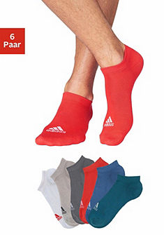 adidas Performance sneaker zokni csíkos szövéssel (6 pár)
