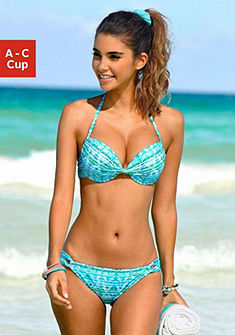 Chiemsee push-up bikini trendi mintával