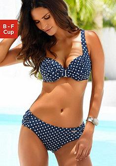 LASCANA merevítős bikini, pöttyös mintával