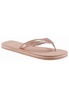 ESPRIT Šľapky v žiarivom vzhľade »Glitter Thongs«