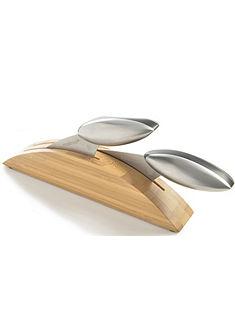 MASTRAD Súprava nožov a bambusový blok »AXOS«