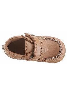 Bellybutton bőr bébi cipő laposöltéssel »Alva«