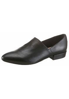 Donna Carolina elegáns bőr belebújós cipő