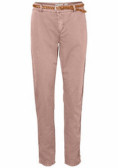 Vero Moda Kalhoty ve stylu Chino »FLAME« (opasek koženkový)