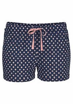 Petite Fleur Pyžamové krátké kalhoty s celoplošným vzorem