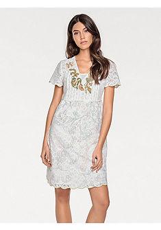 LINEA TESINI by heine Čipkované šaty, romantický vzhľad