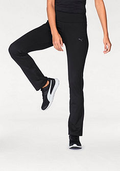 PUMA Sportovní kalhoty »WT ESSENTIAL STRAIGHT LEG PANT«