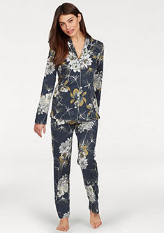 Calida klasszikus fazonú virágmintás pizsama