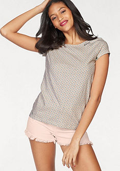 Ragwear Tričko s okrúhlym výstrihom »Mint Dots«