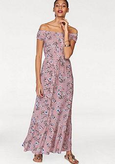 AJC Dlouhé šaty, celoplošný květinový potisk