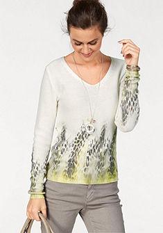 Laura Scott V nyakú pulóver