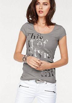 Laura Scott nyomott mintás póló
