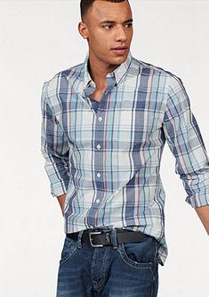 Pepe Riflová kockovaná košeľa »DENNIS«