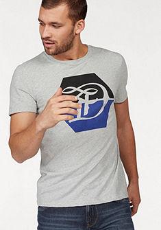 Tom Tailor Denim kereknyakú póló logómintával