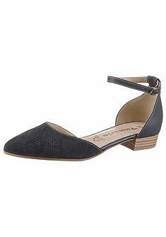 Tamaris pántos balerina cipő állítható pánntal »Mila«