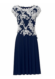 ASHLEY BROOKE by heine Vyšívané šaty s kvetinovým vzorom