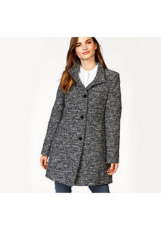 FUCHS SCHMITT Krátký kabát ve tvídovém vzhledu