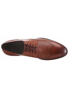 Joop! Topánky s dierkovaným vzorom »Kleitos«