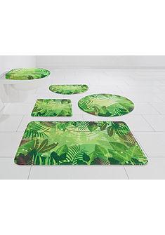 Koupelnová předložka, my home Selection »prales« výška 14 mm, paměťová pěna