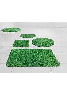 Koupelnová předložka, my home Selection »tráva« výška 14 mm, paměťová pěna