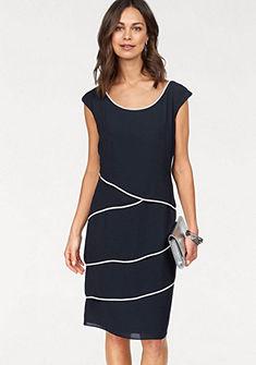 HERMANN LANGE Collection estélyi ruha réteges hatással