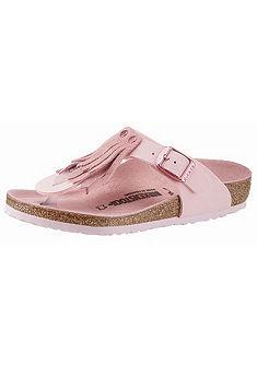Birkenstock lábujjközös papucs »GIZEH FRINGES«