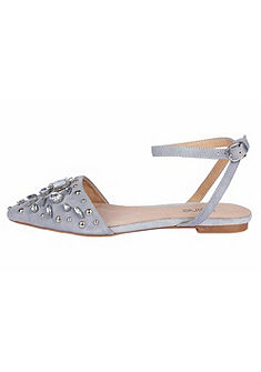 Heine sling balerina cipő dekoratív ékszerkövekkel