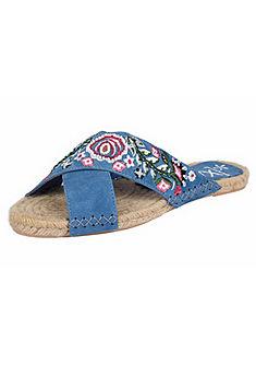 XYXYX Sandále s výšivkou
