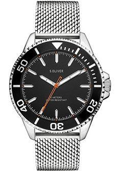 s.Oliver RED LABEL Náramkové hodinky »SO-3482-MQ«