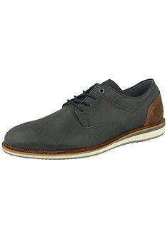 Bullboxer fűzős cipő kontrasztszínű sarokkal
