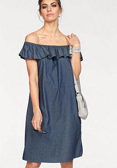 CLAIRE WOMAN Rifľové šaty