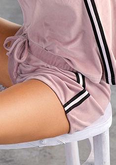LASCANA rövid pizsamanadrág puha plüssből