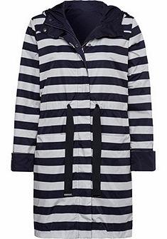 BASEFIELD Outdoor kifordítható dzseki kapucnival
