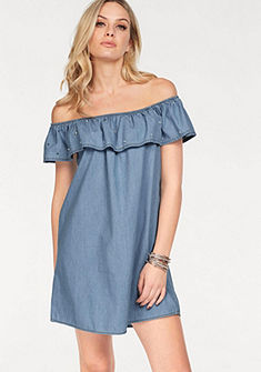 HaILYS Rifľové šaty »PARINA«