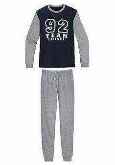 Le Jogger pizsama hosszú nadrágos, szám nyomásmintával az elején