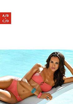 sunseeker bandeau bikini felső »Fancy« divatos díszfűzéssel